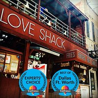 Love Shack in the Fort Worth Stockyards!