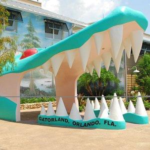 World Famous Gator Jaw at Gatorland, the Alligator Capital of the World!