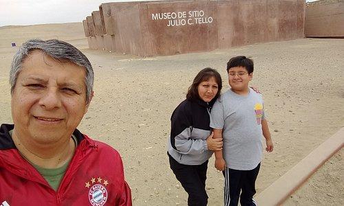 Vista del museo Julio C Tello de Paracas