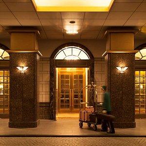 Entrance at Dai-ichi Hotel Tokyo