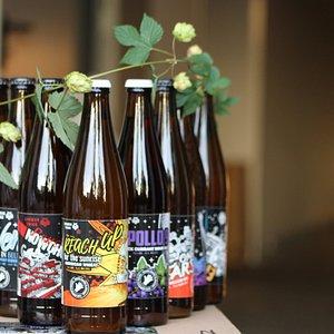Taste a selection of freshly brewed beers