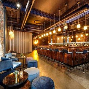 L'espace bar à cocktail