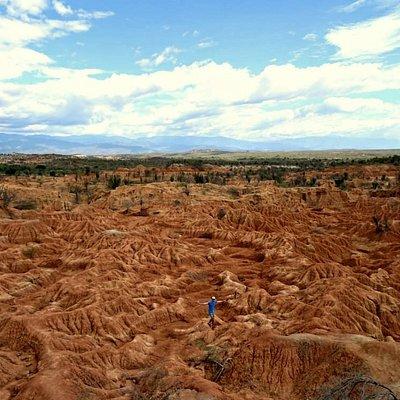 Landscapes in Tatacoa