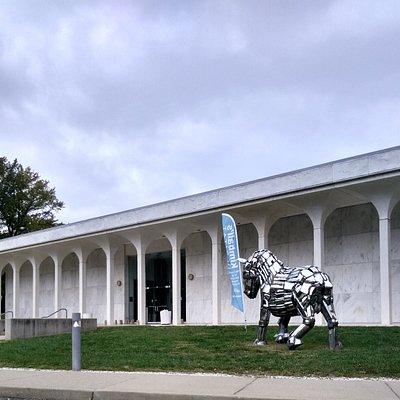 Main Entrance to Center