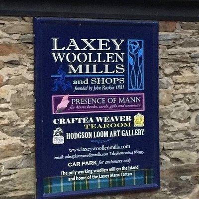 Presence of Mann at Laxey Woollen Mills