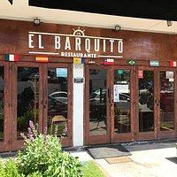 Fachada del restaurante El Barquito en Viña del Mar