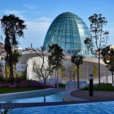 Parque Botánico Orquidario. Exteriores