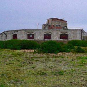 Landguard Nature Reserve, old fort
