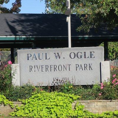 Nice regional park.