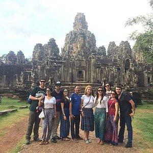 Cambodia Angkor Tour, Mr Koy