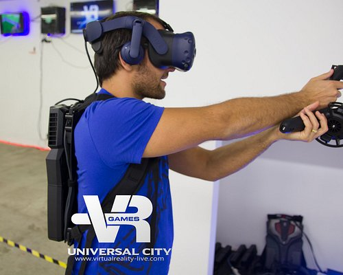 Virtual Reality Games offers a perfect set of Halloween horror games!