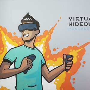 Have you experienced Virtual Reality before? Over 100+ games to choose from!