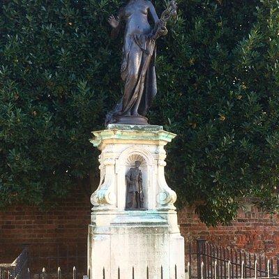 The Marlowe Memorial in Canterbury