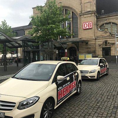 Taxen am Hbf Koblenz