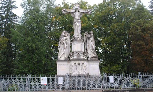 Oberammergau Cruxifixion Group, gift of King Ludwig II