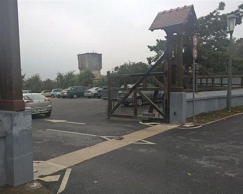 ingang parking