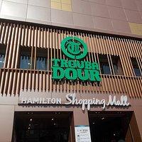 Hamilton Shopping Mall, part of the Hamilton Hotel, Itaewon District, Seoul, South Korea.