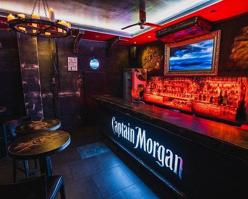 Rodeo - zadní Cpt.Morgan bar