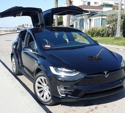 Tesla model X limo service in San Diego Ca.