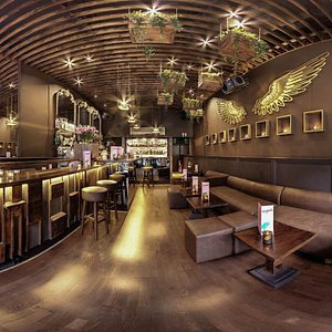 Angels cocktail bar, new look, new menu