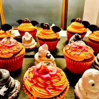 Cupcakes for the Halloween themed Hen Party