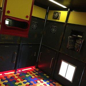 Inside Escape Yellow Sub