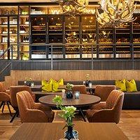 gourmet restaurant with extensive menu card