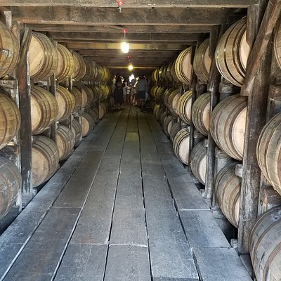 There are more barrels of bourbon in Kentucky than there are people.