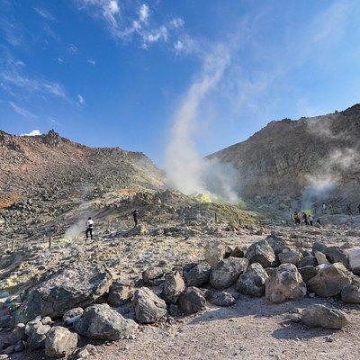 硫磺山其中一小區