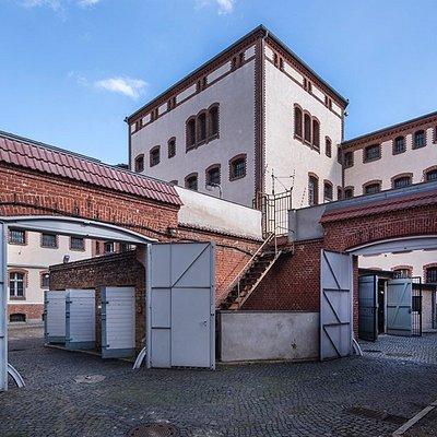 Innenhof_Stiftung Gedenkstätte Lindenstraße