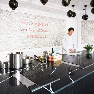 Mimo cooking school in Seville