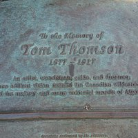 Tom Thomson Memorial in Huntsville