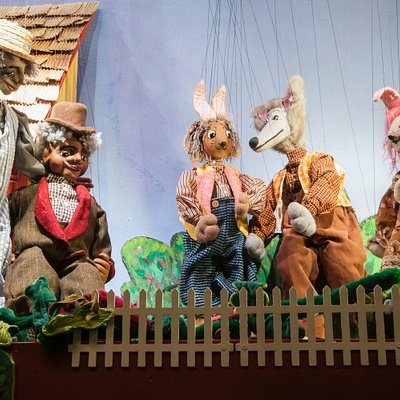 marionettes in Brer' Rabbit