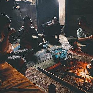 Karen village tribe