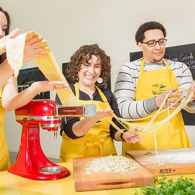 Pasta Making Class at Hipcooks.