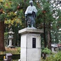 松尾芭蕉像です