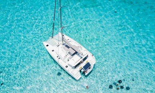 Catch the Cat Catamaran at Stingray City - Grand Cayman