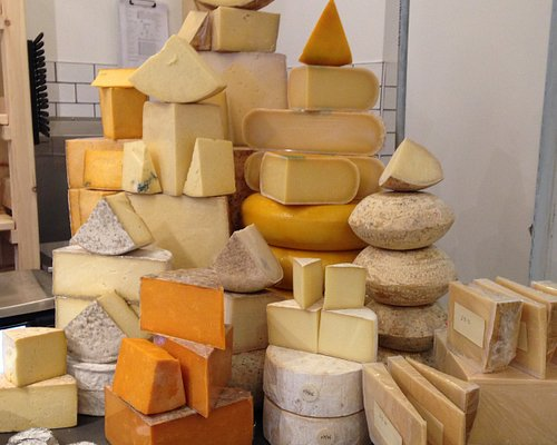 A selection of our cheeses