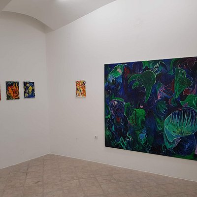 Marcel Hueppauf exhibition in Contra gallery