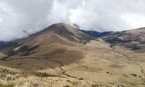 Vista desde Cima 1 Volcan Sotara