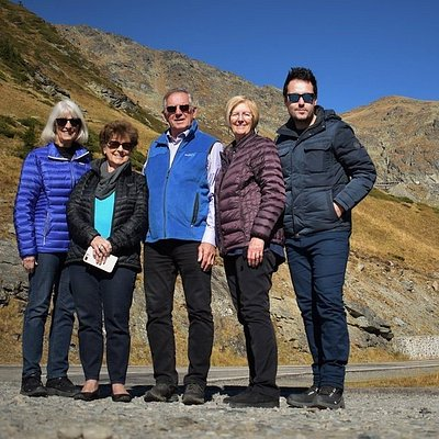 Guests and George from Touring Romania