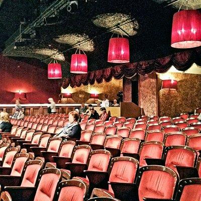 Foto del interior del teatro