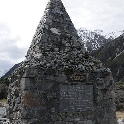 Alpine Memorial - up close