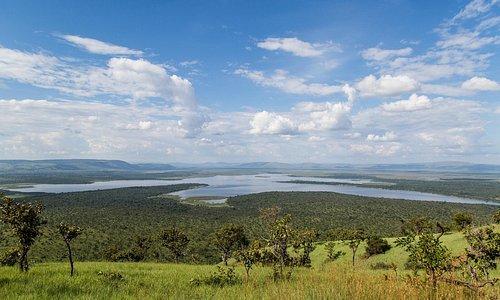views from the western ridge overlooking east over the wetlands - Scott Ramsay