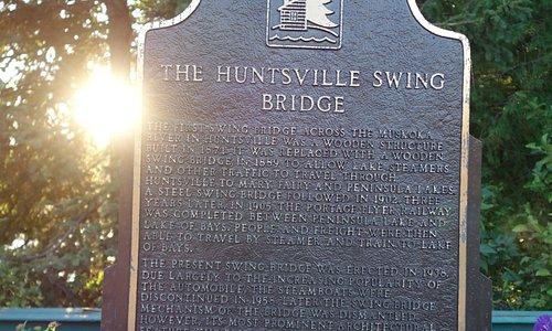 The Huntsville Swing Bridge