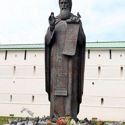 ラドネジの聖セルギエフ像