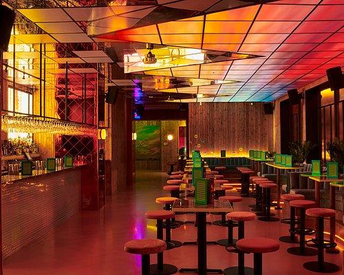 Nikki's bar area