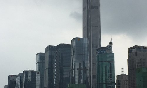 Pretty obvious which building is the Ping An.
