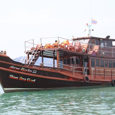 Depart every day for cruise trip in the Gulf of Thailand