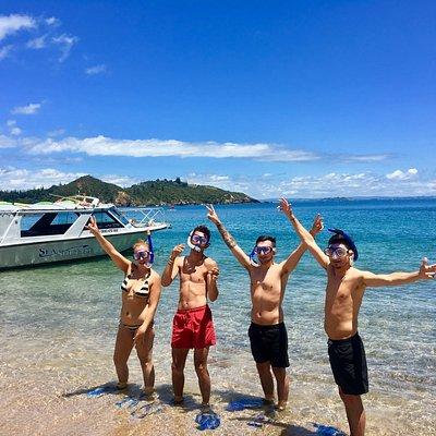 Snorkelling Bay of Islands